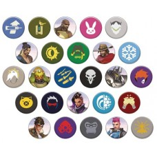 OVERWATCH 1.25 IN PIN 40 PCS BMB DS