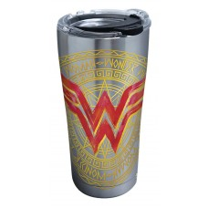 WONDER WOMAN LINEAGE STAINLESS STEEL 20OZ TUMBLER W/LID