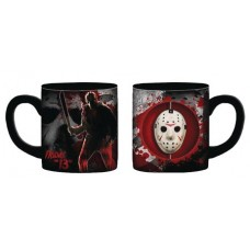 FRIDAY THE 13TH JASON MASK 20OZ CERAMIC SPINNER MUG