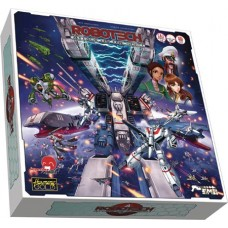 ROBOTECH ATTACK ON THE SDF-1 COOP BOARD GAME