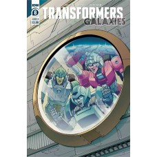 TRANSFORMERS GALAXIES #8 CVR B CHAN @D