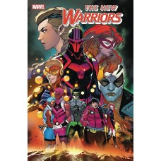 NEW WARRIORS #1 (OF 5) OUT @T