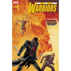 NEW WARRIORS #1 (OF 5) SHALVEY MARVEL ZOMBIES VAR OUT @D
