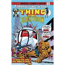 TRUE BELIEVERS BLACK WIDOW & THE THING #1 @U