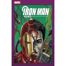 IRON MAN 2020 #4 (OF 6) SUPERLOG HEADS VAR @D