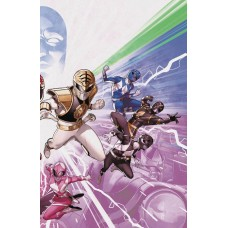 MIGHTY MORPHIN POWER RANGERS #50 CONNECTING VAR @D