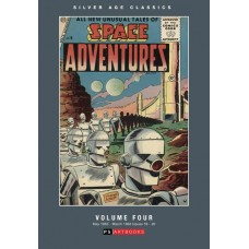 SILVER AGE CLASSICS SPACE ADVENTURES HC VOL 04