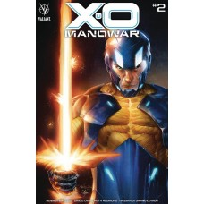X-O MANOWAR (2020) #2 CVR B DIAZ @D