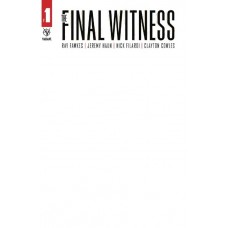 FINAL WITNESS #1 (OF 5) CVR E BLANK @D