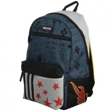 BIRDS OF PREY HARLEY QUINN FAUX DENIM RIPSTOCK BACKPACK @U