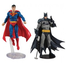 DC BATMAN/SUPERMAN 7IN SCALE WV1 AF ASST @J