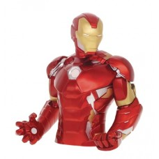 AVENGERS IRON MAN PVC BUST BANK @W