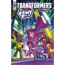 MY LITTLE PONY TRANSFORMERS II #1 (OF 4) CVR B BETHANY MCGUI