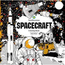 SPACECRAFT SMITHSONIAN COLORING BOOK (C: 0-1-0)
