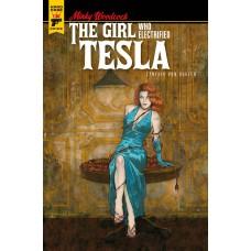 MINKY WOODCOCK GIRL ELECTRIFIED TESLA #1 CVR D BUHLER (MR)