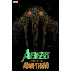 AVENGERS CURSE OF MAN-THING #1 2ND PRINT GLEASON WEBHEAD VAR