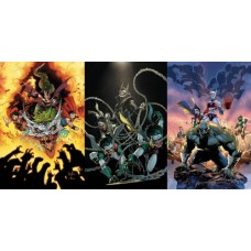 DARK NIGHTS METAL HC, RESISTANCE TP & NIGHTMARE BATMEN HC SET BUNDLE