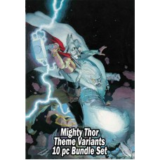 MIGHTY THOR THEME VARIANT 10 PC SET BUNDLE