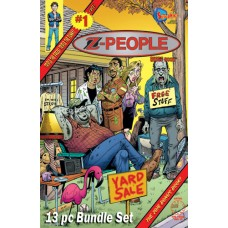 SitComics Binge Bundle 12 pc Set Plus FREE Z People Bonus Book