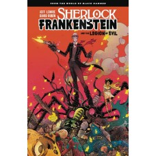 SHERLOCK FRANKENSTEIN & LEGION OF EVIL TP