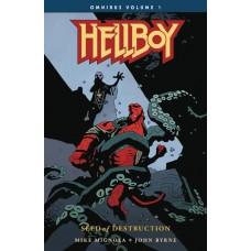 HELLBOY OMNIBUS SEED OF DESTRUCTION TP VOL 01
