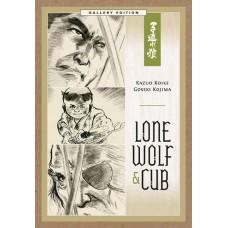 LONE WOLF & CUB GALLERY ED HC