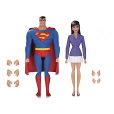 SUPERMAN ANIMATED SER SUPERMAN & LOIS LANE AF 2 PK