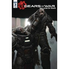 GEARS OF WAR RISE OF RAAM #3 CVR A BROWN