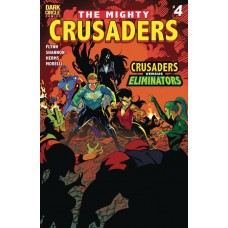 MIGHTY CRUSADERS #4 CVR A SHANNON