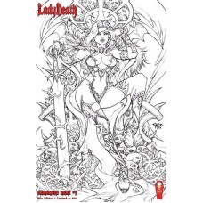 LADY DEATH DAMNATION GAME RAW ED S&N (MR)