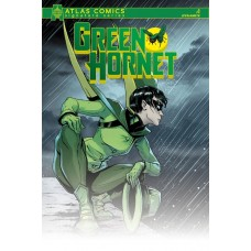 GREEN HORNET #1 ATLAS CHU SIGNED ED