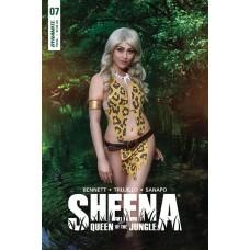 SHEENA #7 CVR D COSPLAY