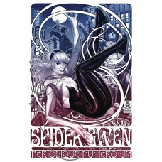 DF SPIDER GWEN #1 ART FADE BROOKS & ROMITA SR SGN ED