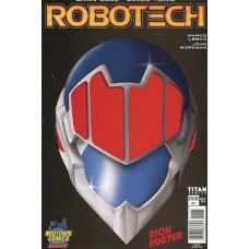 DF ROBOTECH #1 MIDTOWN COMICS RICK HUNTER EXC