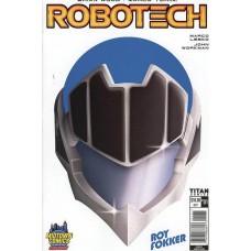 DF ROBOTECH #1 MIDTOWN COMICS ROY FOKKER EXC