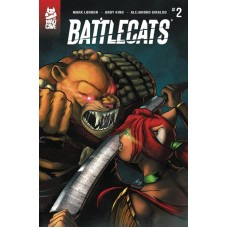 BATTLECATS #2 (OF 5)