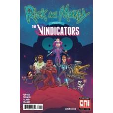 RICK & MORTY PRESENTS THE VINDICATORS #1 CVR A