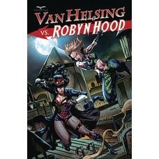 VAN HELSING VS ROBYN HOOD #3 (OF 4) CVR B WHITE