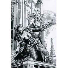 VAN HELSING VS ROBYN HOOD #3 (OF 4) CVR D ANACLETO