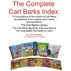 COMPLETE CARL BARKS INDEX LARGE PRINT ED