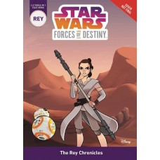 STAR WARS FORCES OF DESTINY REY CHRONICLES CHAPTERBOOK