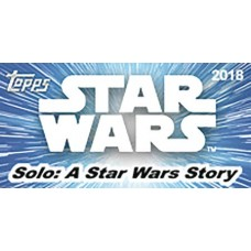 TOPPS 2018 SOLO A STAR WARS STORY T/C BOX (Net)