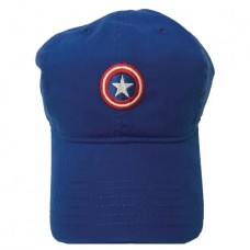 CAPTAIN AMERICA SHIELD DAD CAP