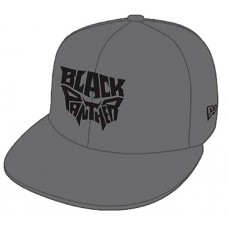BLACK PANTHER NAME LOGO OUTLINE 9FIFTY SNAP BACK CAP
