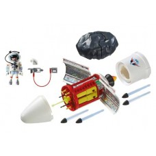 PLAYMOBIL SPACE SATELLITE METEOROID LASER PLAY-SET (Net)