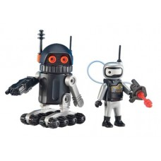 PLAYMOBIL SPACE ROBOT 2PK FIG (Net)