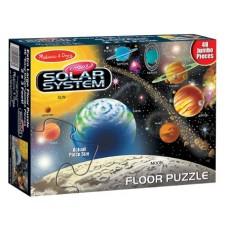 MELISSA & DOUG SOLAR SYSTEM 48 PC FLOOR PUZZLE