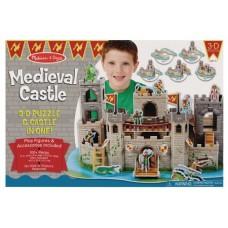 MELISSA & DOUG MEDIEVAL CASTLE 3D PUZZLE