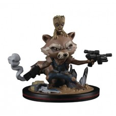 MARVEL GOTG ROCKET RACCOON & GROOT Q-FIG FIGURE