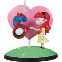 MARVEL ANIMATED STYLE SPIDER-MAN & MARY JANE STATUE (Net)
